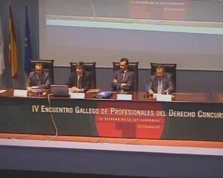 Terceira Mesa Redonda - IV Encontro Galego de Profesionais do dereito concursal